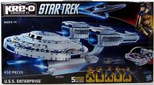 KRE-O A3137 STAR TREK USS ENTERPRISE building set & 5 Kreon Figures 432 Pieces