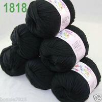Sale 6 ballsx 50gr DK Baby Soft Cashmere Silk Wool hand knitting Crochet Yarn 18
