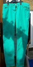 kangol ladies jeans size 12r green