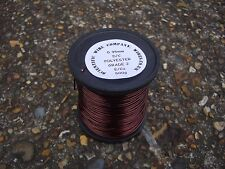 1.12mm ENAMELLED COPPER WINDING WIRE, MAGNET WIRE, high temp  500 Gram Spool