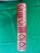 DICKENS, Charles. Dombey and Son. [1874]. - Fine binding.