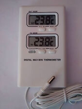 Digital Max-Min Indoor/Outdoor Thermometer