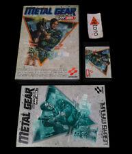 METAL GEAR MSX MSX2 MegaRom RC-750 JAP Konami Complete
