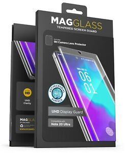 For Samsung Galaxy Note 20 Ultra Screen Protector Tempered Glass w Finger Sensor