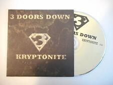 3 DOORS DOWN : KRYPTONITE [ CD SINGLE PORT GRATUIT ]