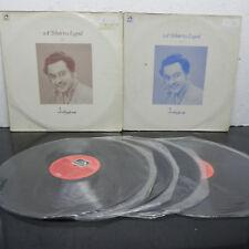 Kishore Kumar A Tribute to a Legend  4 LP Vinyl Record Hindi Bollywood Indian NM