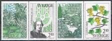 Zweden postfris 1987 MNH 1453-1456 - Botanische Tuinen (2)