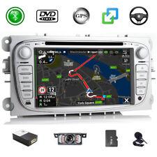 7'' DAB+ Car Stereo Sat Nav CD DVD BT Map For Ford Focus Mondeo C/S-max Galaxy