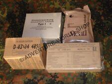 Rationen 4er Pack EPA, RCIR, US, UK 24 H Verpflegung