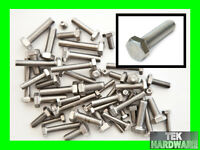 """Stainless Steel UNF Bolts (Setscrews) 10.32 (3/16), 1/4"""", 5/16"""".. 50 Mixed Pack"""
