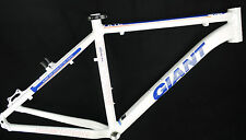 "NEW GIANT XTC SEVEN 7 HARDTAIL FRAME SIZE M 19"" MTB XC WHITE BLUE RED"