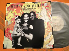 """WOMACK & WOMACK - Celebrate The World / Friends (So Called) '89 Aus 12"""" NMINT+"""