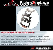 Portatarga Bkr suzuki gsxr 1000 2009 porta targa license plate regolabile