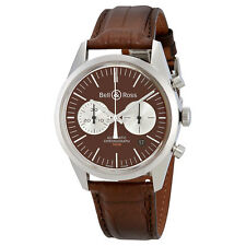 Bell and Ross Vintage Officer Chronograph Automatic Mens Watch BR126-OFFICERBR