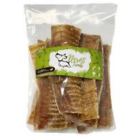 Dog Bones 6'' Premium Beef Crunchy Trachea Treats (8 Count bag) USA Quality!
