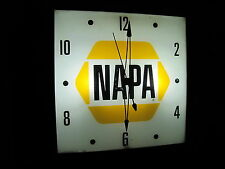 Pam.Telechron.Advertising Clocks (Led Bulbs), Texaco, Napa, Gulf,Shell