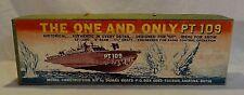 RARE! 1960`S DUMAS RADIO CONTROL HISTORICAL WW2 P.T. 109 PATROL BOAT WOOD MODEL