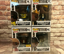 Funko Pop! Rocks Notorious B.I.G 4 piece Set 77,78,152,153 in Ee Protector Boxes