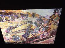 """Emily Carr """"Brittany Landscape"""" Canadian Art 35mm Slide"""