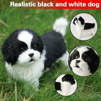 Realistic Puppy Toy Dog puppies Lifelike Stuffed Companion Pet Dog Handmade