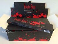 Ships from Kentucky - VAMPIRE BLOOD INCENSE STICKS (12 boxes x 15 gram each)