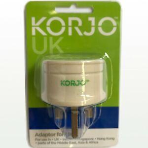 NEW Korjo Adaptor for UK
