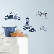 RoomMates Nautical Sea Friends Peel And Stick Wall Decals, 8 Inch, Multicolor
