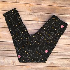Black Cats Halloween Women's Leggings PS Plus Size 12-20 Super Soft