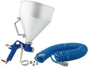 Spray Gun 6 Litre Hopper Air Operated for Rendering includes 10 Meter Air Hose
