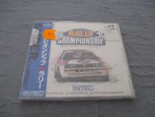 >> CHAMPIONSHIP RALLY PC ENGINE CD JAPAN IMPORT NEW FACTORY SEALED! <<