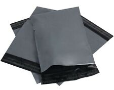 "50 Strong cheapest Mailing Bags 17"" X 24"" Extra Large Grey Plastic  Postal Bags"