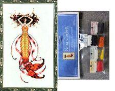 Mirabilia Cross Stitch Chart with Embellishment Pack ~ SIREN'S SONG MERMAID #189