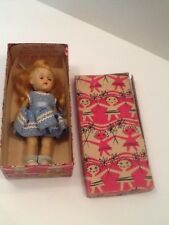 Vintage 1950's Walking Ginny Doll In Original Box Patent No 2687594