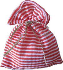 Calendrier de l'Avent Petit sac rouge blanc Tissu Avent Noël même à remplir