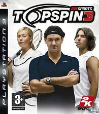 PS3 Top Spin 3 Nuevo Precintado Pal España