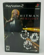 Hitman Trilogy  Blood Money, Hitman 2, Contract ) PS2 Sony PlayStation 2 NEW