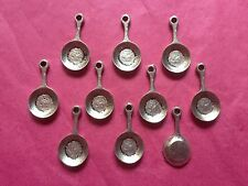 Tibetan Silver Frying Pan/Cookery/Cooking Charms 10 per pack - Food & Drink