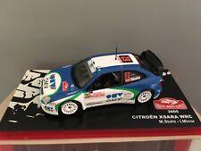 COCHE RALLYE MONTE CARLO 2005- CITROËN XSARA WRC . ESCALA 1/43