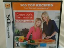 America's Test Kitchen: Let's Get Cooking (Nintendo DS, 2010) New