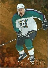 98-99 BE A PLAYER BAP GOLD #154 FREDRIK OLAUSSON MIGHTY DUCKS *33010