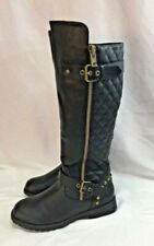 Nature Breeze Ladies Vivienne-01 Quilted Boots- Size 6.5 New In Box