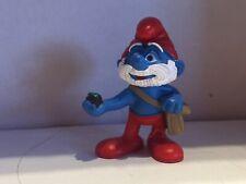 Schleich 20729 Papaschlumpf Mit Tasche Schlumpf Smurf