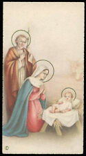 "santino-holy card""""ediz. NB*  n.6075 NATIVITA'"