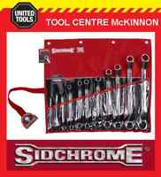 SIDCHROME SCMT21211 11pce OFFSET RING END METRIC SPANNER SET