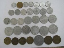Lot of 34 Different Obsolete Poland Coins - 1949 to 1988 - Circulated & BU
