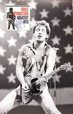 BRUCE SPRINGSTEEN Signed 23x15 Photo Display BORN IN THE USA COA