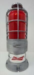 Budweiser Goal Red Light Horn - NHL 2nd Version All Metal