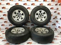 ford Ranger Set of alloy wheels  With Fullrun /Event 265 70 15 Tyres 2003-2006