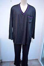 Men s Touch  Pyjama Herrn Men.s Gr. 3 Xl grau Schlafanzug Übergröße