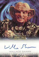 Complete Star Trek Deep Space Nine DS9 Wallace Shawn / Grand Negus A9 Auto Card
